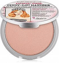 Profumi e cosmetici Highlighter, shimmer e ombretto - theBalm Cindy-Lou Manizer Highlighter & Shadow