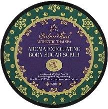 Profumi e cosmetici Scrub allo zucchero per corpo, con olio di crusca di riso e aloe vera - Sabai Thai Rice Milk Aroma Exfoliating Body Sugar Scrub