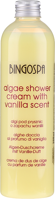 Gel doccia con alghe e aroma di vaniglia - BingoSpa Algae Shower With Vanilla Scent