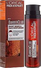 Profumi e cosmetici Gel idratante per viso e barba - L'Oreal Paris Men Expert Barber Club Moisturiser