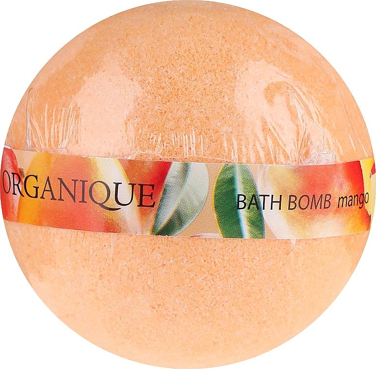 """Bomba da bagno """"Mango"""" - Organique Bath Bomb Mango"""