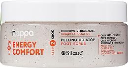 Profumi e cosmetici Peeling allo zucchero per i piedi - Silcare Nappa Natural Sugar Foot Scrub