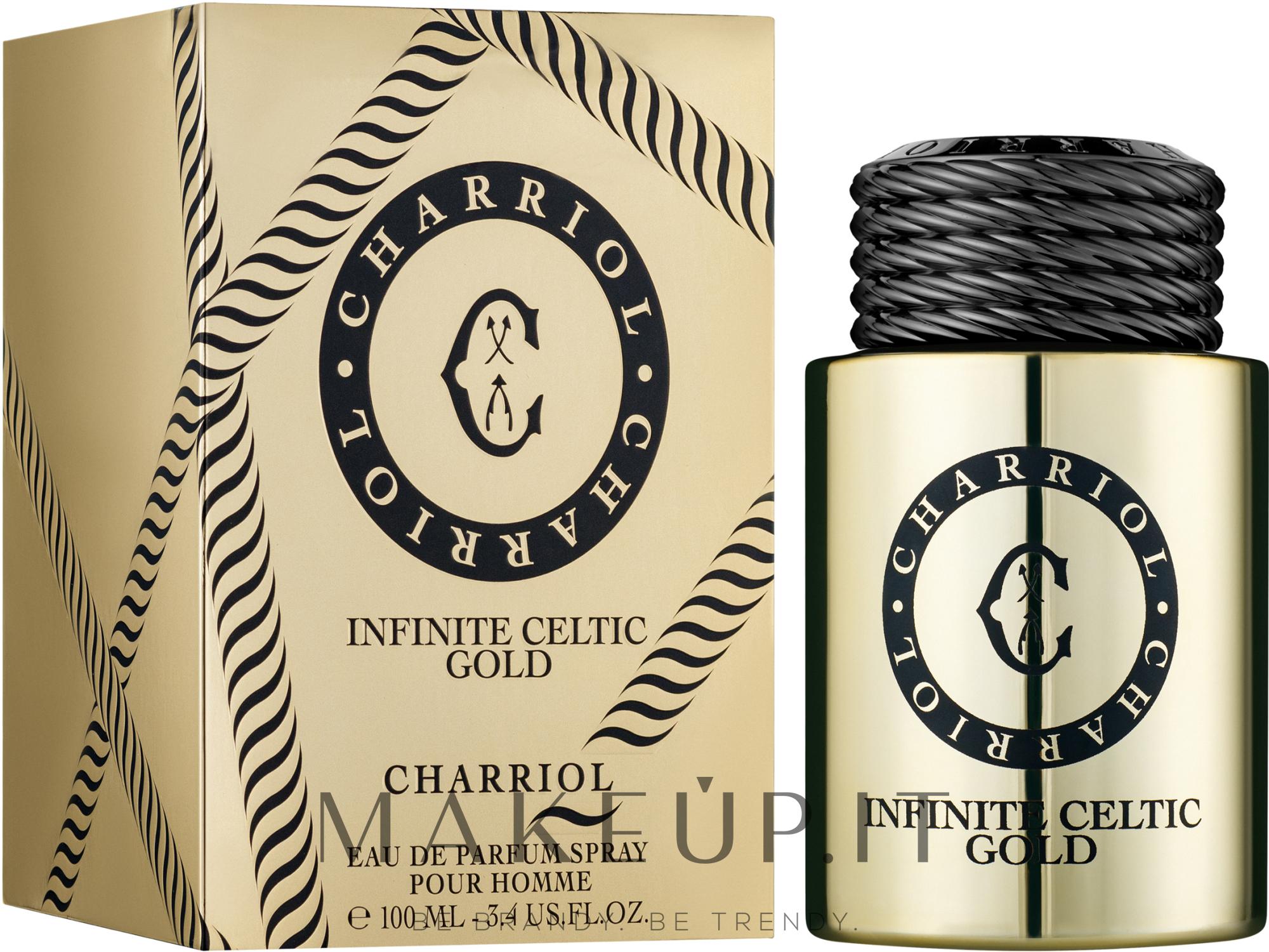 Charriol Infinite Celtic Gold - Eau de parfum — foto 100 ml