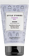 """Profumi e cosmetici Gel per lo styling """"Effetto Ghiaccio"""" - Alfaparf Style Stories Frozen Gel Extra-Strong Hold"""