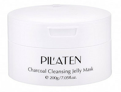 Maschera viso - Pilaten Charcoal Cleansing Jelly Mask Face Mask — foto N1