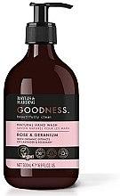 Profumi e cosmetici Sapone liquido mani - Baylis & Harding Goodness Rose & Geranium Natural Hand Wash