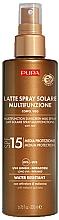 Profumi e cosmetici Latte solare per corpo e viso SPF 15 - Pupa Multifunction Sunscreen Milk Spray