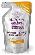 """Profumi e cosmetici Sapone liquido di Marsiglia """"Orange"""" (ricarica) - Ma Provence Liquid Marseille Soap Orange"""