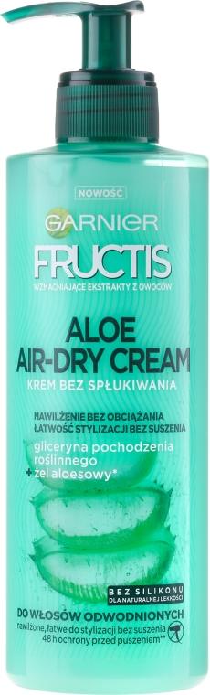 Crema per capelli - Garnier Fructis Aloe Air-Dry Cream