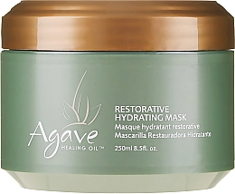 Profumi e cosmetici Maschera per capelli - Agave Healing Oil Restorative Hydrating Mask