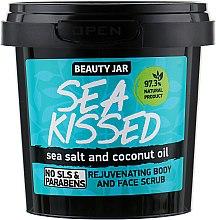 Profumi e cosmetici Scrub rigenerante per viso e corpo con sale marino e olio di cocco - Beauty Jar Rejuvenating Body And Face Scrub