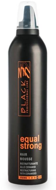 Mousse per capelli - Black Professional Line Mousse Equal Fissaggio Forte