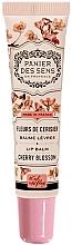 """Profumi e cosmetici Balsamo labbra al burro di karitè """"Cherry Blossom"""" - Panier des Sens Lip Balm Shea Butter Cherry Blossom"""