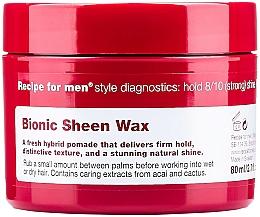 Profumi e cosmetici Cera per capelli lucidante - Recipe for Men Bionic Sheen Wax