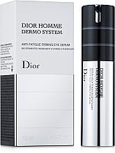 Profumi e cosmetici Siero contorno occhi per uomo - Dior Homme Dermo System Eye Serum 15ml