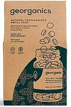 """Profumi e cosmetici Pillole per la pulizia dei denti """"English Mint"""" - Georganics Natural Toothtablets English Peppermint (ricambio)"""