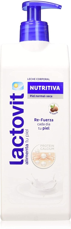 Latte corpo nutriente - Lactovit Nourishing Body Milk