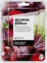 "Profumi e cosmetici Maschera in tessuto ""Barbabietola"" - Superfood For Skin Moisturizing Sheet Mask"
