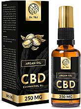 Profumi e cosmetici Olio di Argan naturale CBD 250mg - Dr. T&J Bio Oil