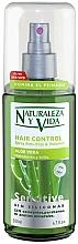 """Profumi e cosmetici Spray volumizzante per capelli """"Aloe Vera"""" - Natur Vital Sensitive Hair Control Anti-Frizz & Volume Spray"""