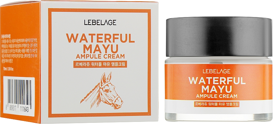 Crema viso all'olio di criniera - Lebelage Waterful Mayu Ampule Cream