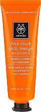 "Profumi e cosmetici Maschera all'arancia ""Shine"" - Apivita Radiance Face Mask with Orange"