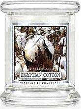 Profumi e cosmetici Candela profumata in vetro - Kringle Candle Egyptian Cotton