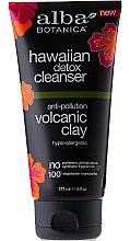 Profumi e cosmetici Gel detergente viso all'argilla vulcanica - Alba Botanica Hawaiian Detox Cleanser