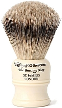 Profumi e cosmetici Pennello da barba, SH1 - Taylor of Old Bond Street Shaving Brush Super Badger size S
