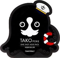 Profumi e cosmetici Maschera contro i punti neri - Tony Moly Tako Pore One Shot Nose