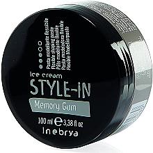 Profumi e cosmetici Pasta modellante capelli - Inebrya Style-In Memory Gum Paste