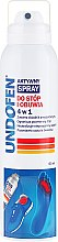 Profumi e cosmetici Spray per piede - Undofen Active Foot Spray 4in1