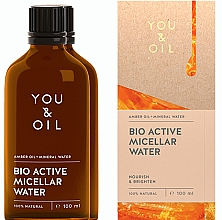 Profumi e cosmetici Acqua micellare - You & Oil Amber. Bio Active Micellar Water