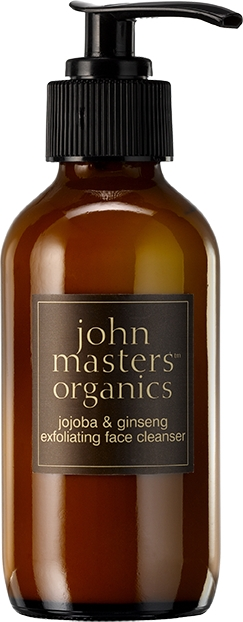 Detergente viso esfoliante - John Masters Organics Jojoba Ginseng Exfoliating Face Wash — foto N1