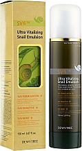 Profumi e cosmetici Emulsione alla bava di lumaca - Dewytree Ultra Vitalizing Snail Emulsion