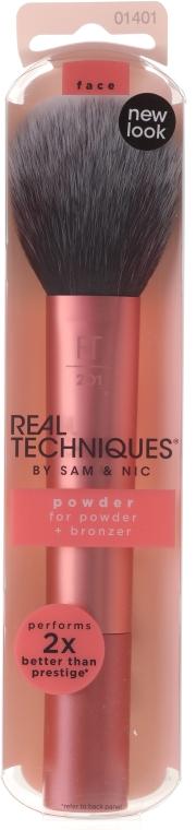 Pennello per cipria, rosa, 01401 - Real Techniques Powder Brush — foto N1