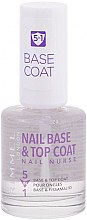 Profumi e cosmetici Top coat - Rimmel Nail Nurse 5 in 1 Nail Base & Top Coat