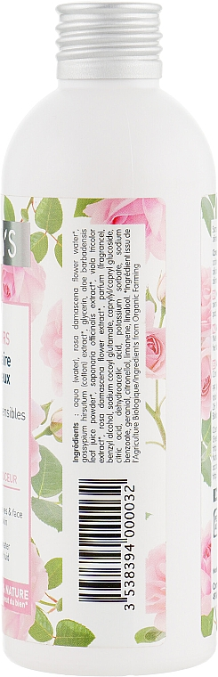 Acqua detergente viso con estratto di rosa - Coslys Facial Care Cleansing Water With Organic Rose Floral Water — foto N2