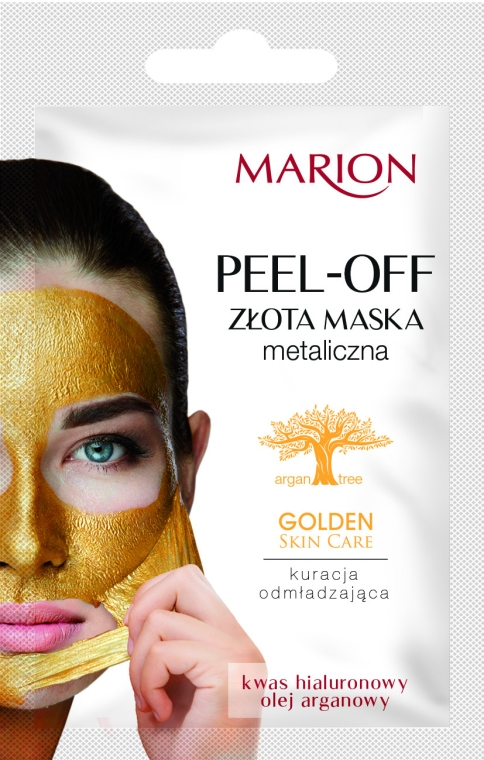 Maschera viso peel-off - Marion Golden Skin Care Peel-Off Mask