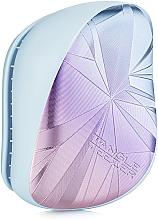 Profumi e cosmetici Pettine - Tangle Teezer Compact Styler Smashed Holo Blue