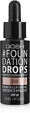 Profumi e cosmetici Fondotinta - Gosh Foundation Drops SPF10