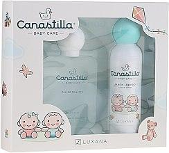 Profumi e cosmetici Luxana Canastilla - Set (edt/100ml + soap/150ml)