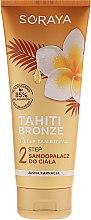 Profumi e cosmetici Lozione autoabbronzante corpo - Soraya Tahiti Bronze 2 Step Lotion for Light Skin