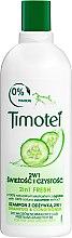 """Profumi e cosmetici Shampoo-condizionante per capelli normali e grassi """"Freschezza e purezza"""" - Timotei Fresh Shampoo & Conditioner"""