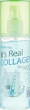 Profumi e cosmetici Gel-mist viso al collagene - FarmStay It's Real Collagen Gel Mist