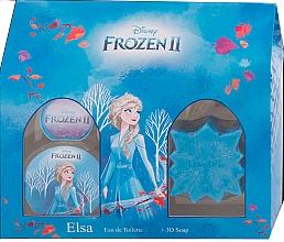 Profumi e cosmetici Disney Frozen II Elsa Gift Set - Set (edt/50ml + soap/50g)