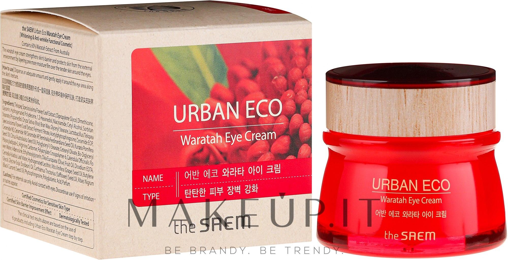 Crema contorno occhi con estratto di telopea - The Saem Urban Eco Waratah Eye Cream — foto 30 ml