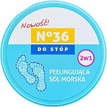 Profumi e cosmetici Peeling al sale marino per piedi 2in1 - Pharma CF No.36
