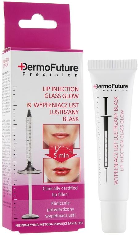 Maximizer labbra, effetto specchio - DermoFuture Lip Injection Glass Glow