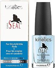 """Profumi e cosmetici Trattamento per unghie secche e fragili """"Seal"""" - Kinetics Nano Seal Nail Treatment"""